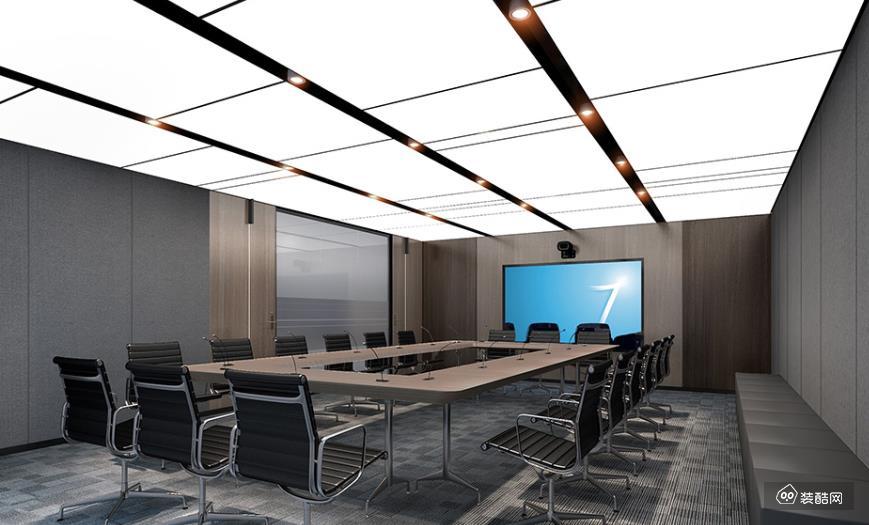 重庆500平米办公室装修效果图