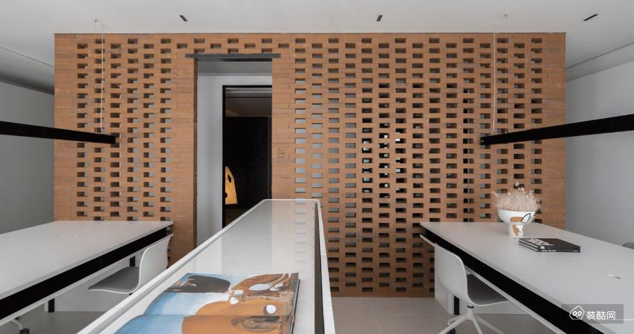重庆400平米现代风格办公室装修效果图