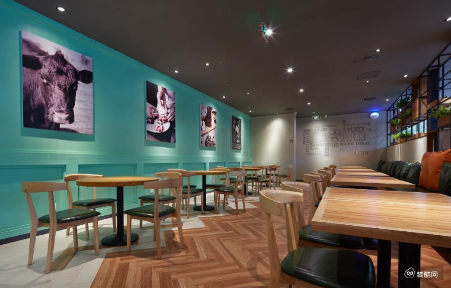 重庆450平米餐厅装修效果图