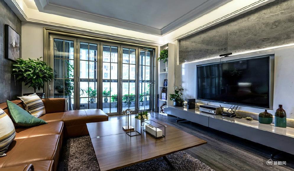 152平米现代简约四室两厅装修效果图