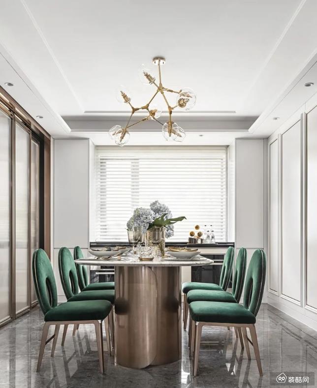 重庆142平米现代简欧风格三室两厅两卫装修效果图