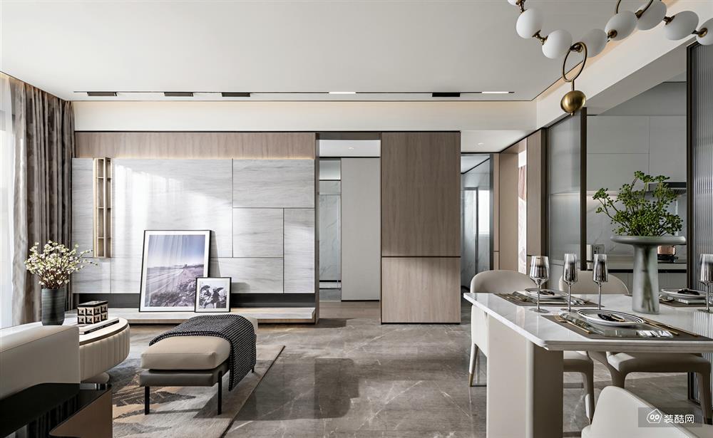 156平米现代风格四室两厅装修效果图-名品章鱼直播间章鱼直播app官网