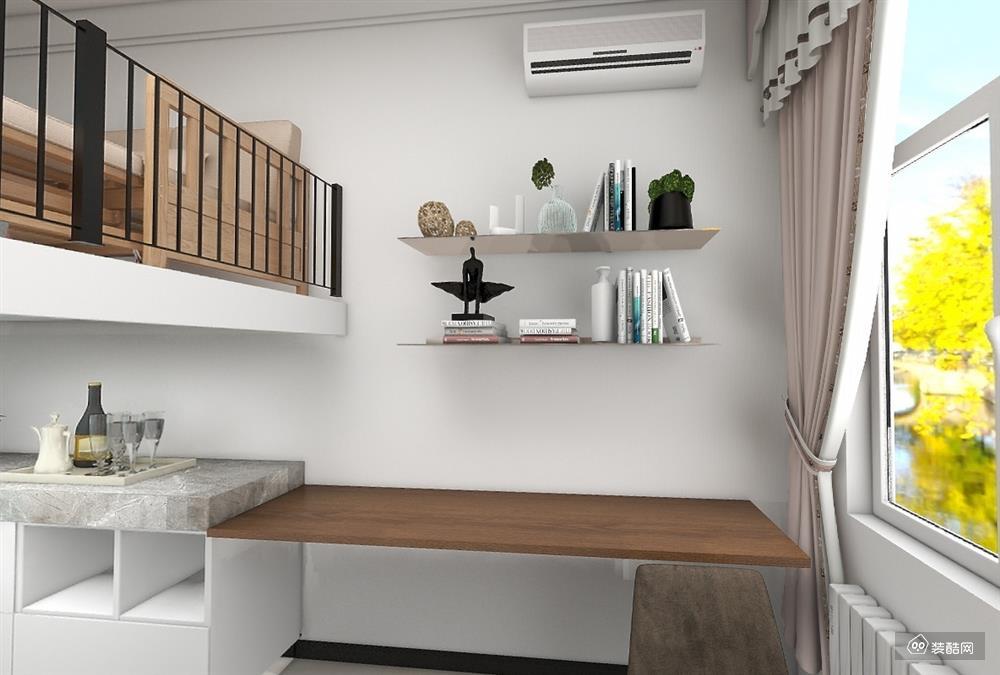 中纺里-12平复式单身公寓装修案例
