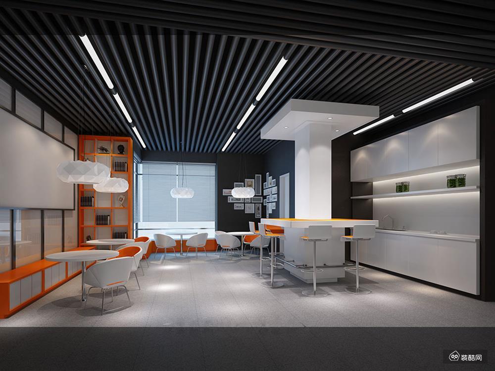麦田章鱼直播间章鱼直播app官网-万事利信息产业园现代风格办公室装修设计