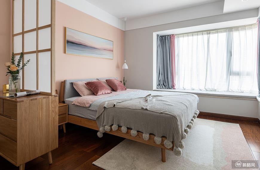重庆110平米北欧风格三室一厅装修效果图