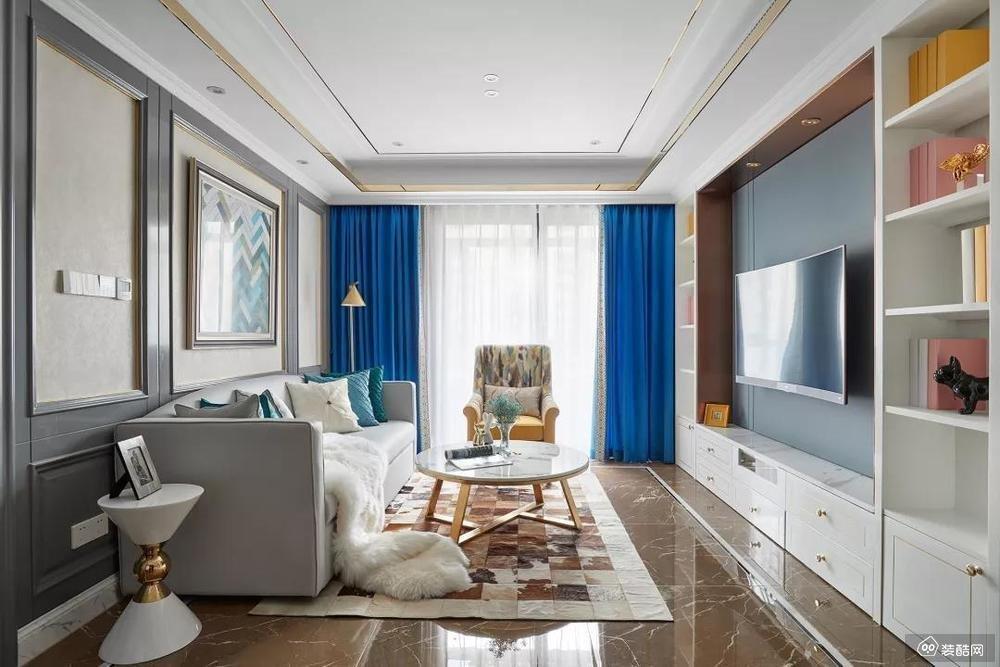 107平米两居室装修案例