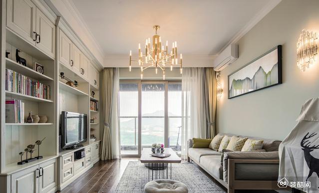 贵阳100平北欧风格三室一厅装修效果图