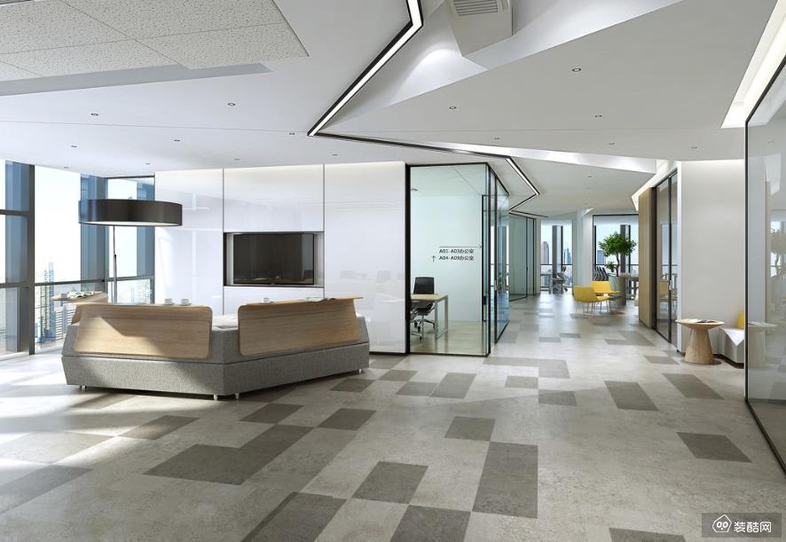 重庆420平米办公室装修效果图