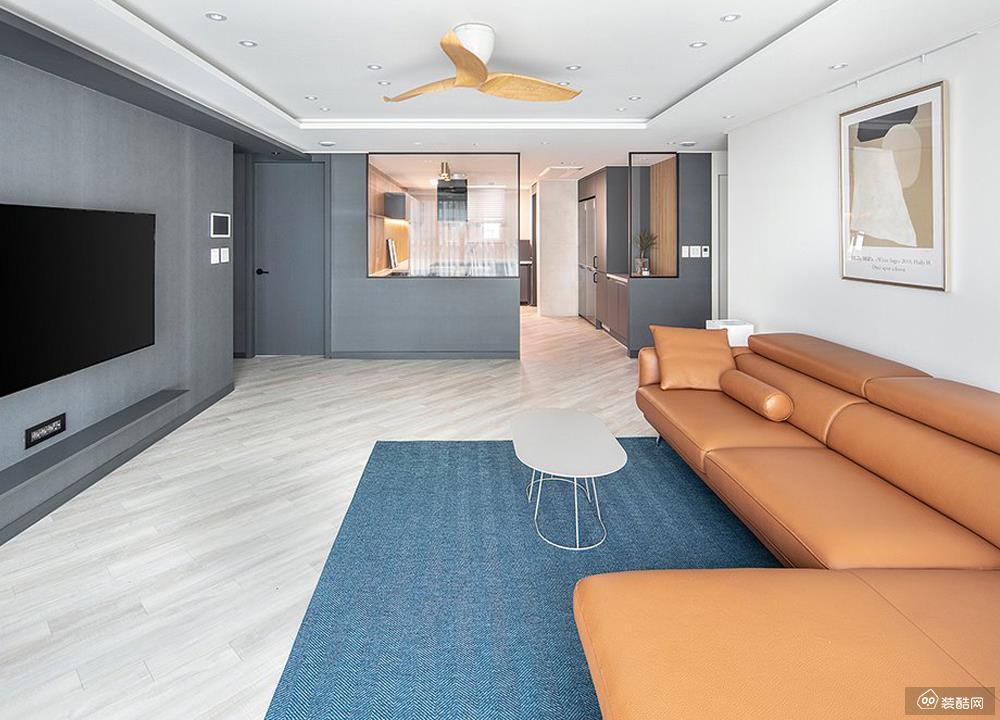 78㎡现代风格两居室案例