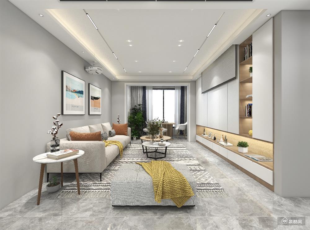150平四居室现代简约风绝美