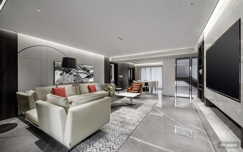 90平现代复式宁静温润有质感的家