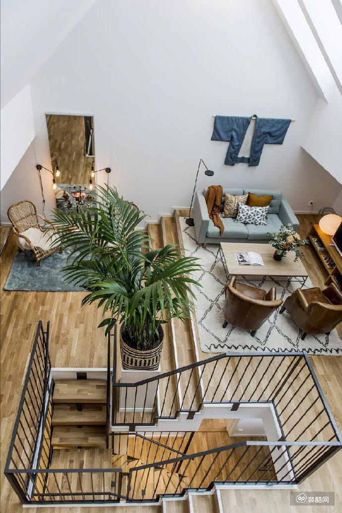 北欧Loft 混搭家居设计