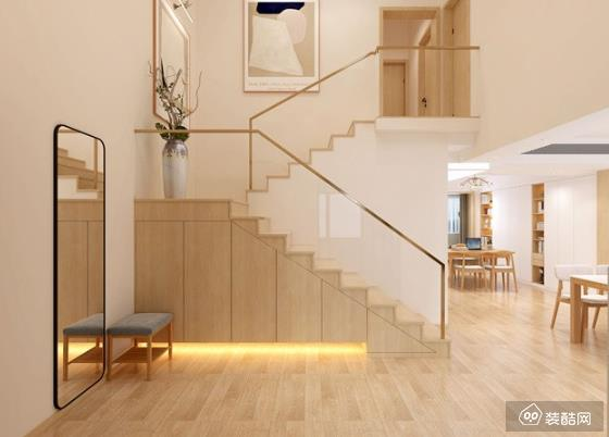 150平米北欧风格复式楼装修效果图