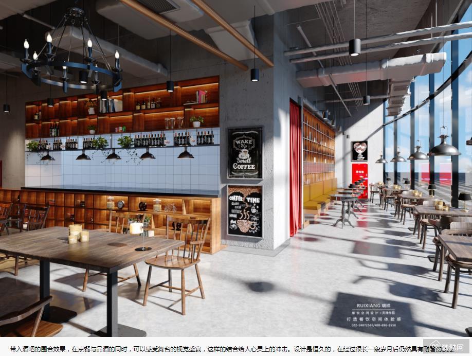 南京巨名章鱼直播间章鱼直播app官网-西餐厅装修案例