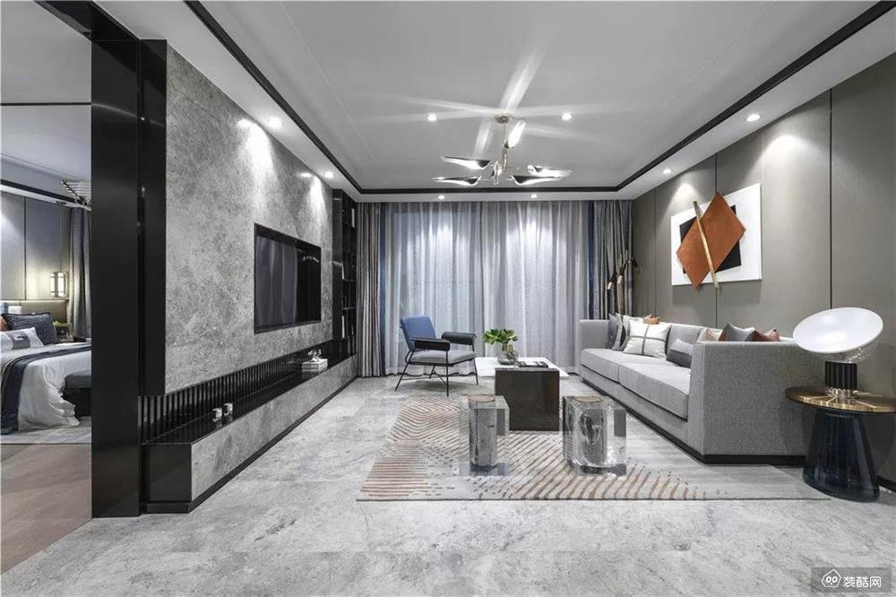 呼和浩特现代轻奢146平四居室装修案例