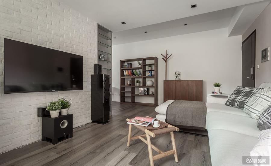 兴义68平米现代风格两室一厅装修效果图