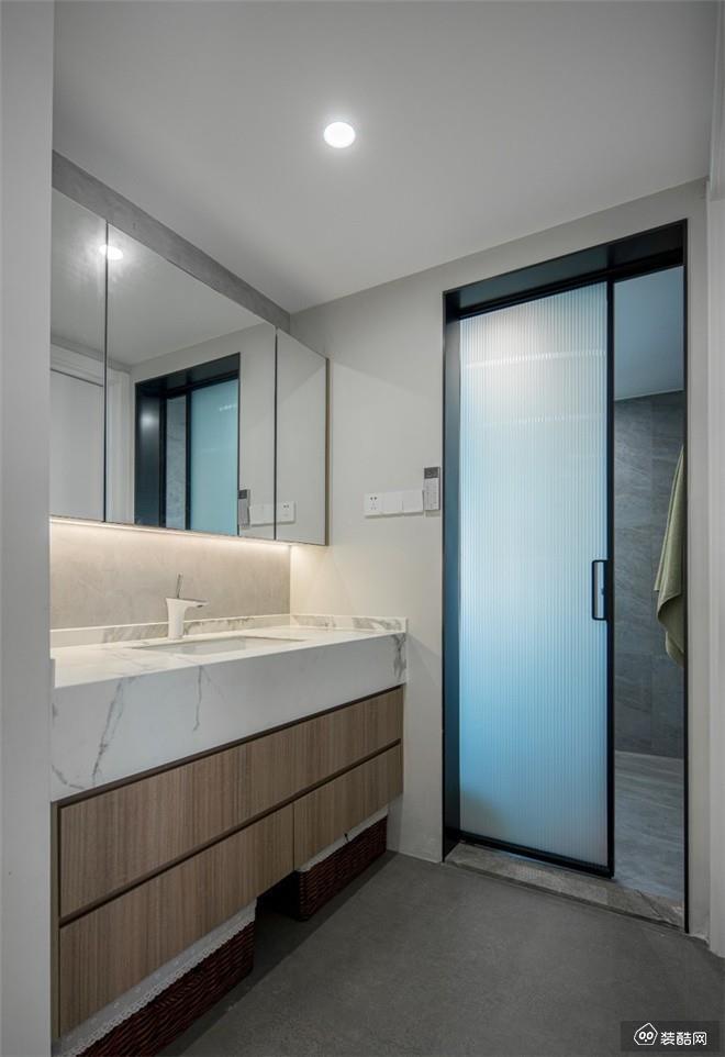 南川118平米简约风格三室一厅装修效果图