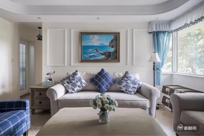 90平的地中海风格,细节见品位,被评为小区最美新房~