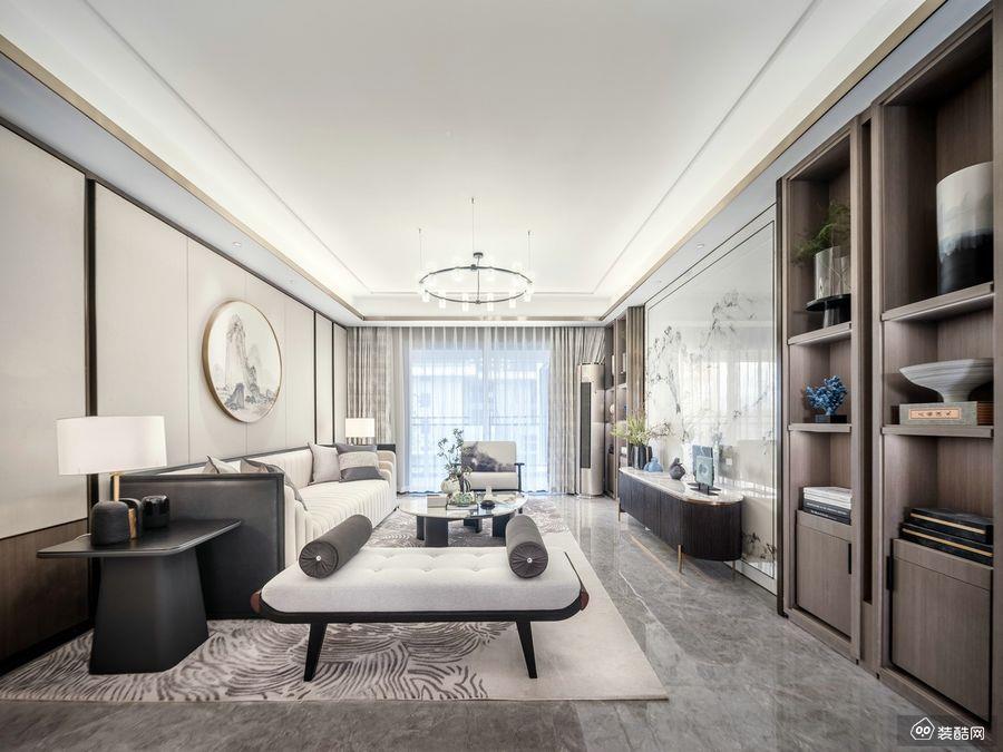 铜仁146平新中式风格四室两厅装修效果图