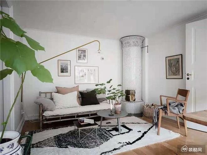 保山60平米北欧风两居室装修效果图