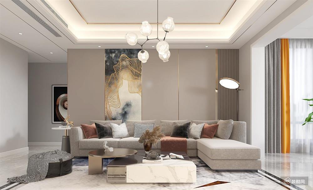 现代轻奢130㎡四室,享受美好生活