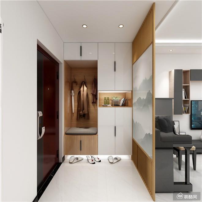 重庆130平米现代简约风格三室两厅两卫装修效果图