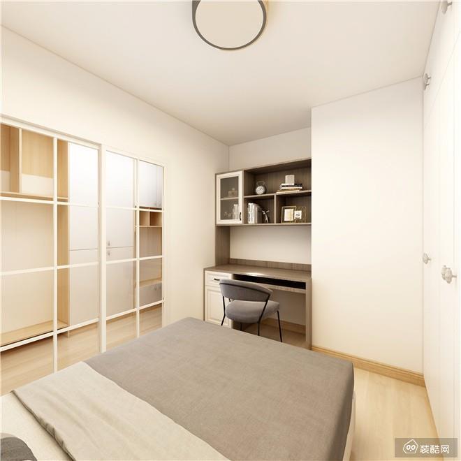 重庆75平米现代简约风格两室一厅装修效果图