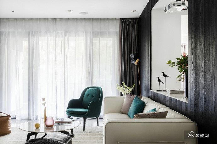 116㎡极简风家居居设计,精而少的质感生活!