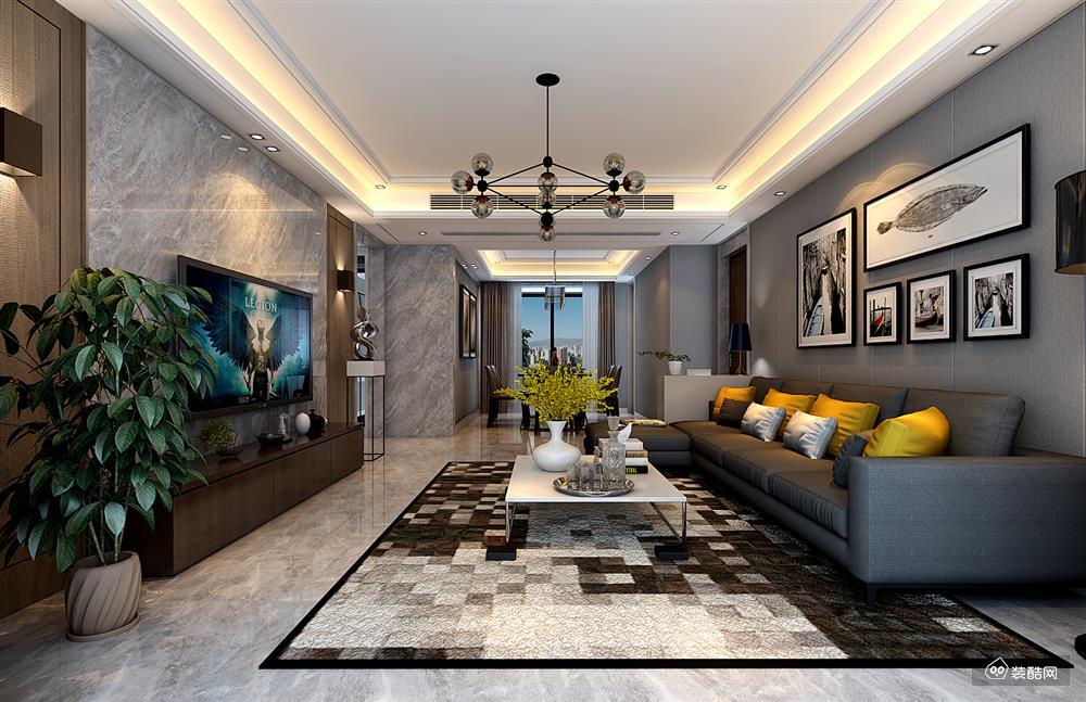 129平四室两厅现代风格装修