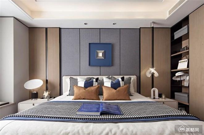 北京145平米现代简约三室两厅装修效果图