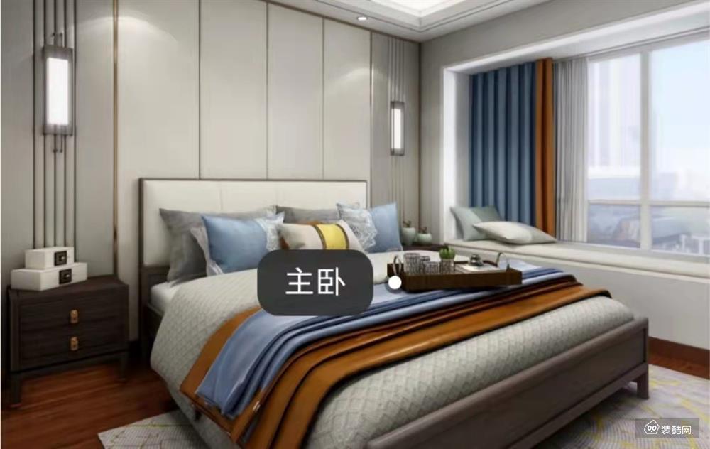 140㎡的新中式 简洁大气又不失高压情调的居住氛围。