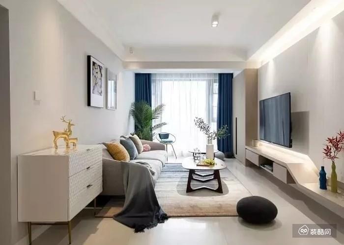 奇葩户型巧妙利用,打造90m2三室北欧新家!
