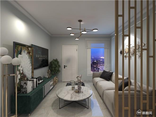 重庆120平米新中式风格三室装修效果图