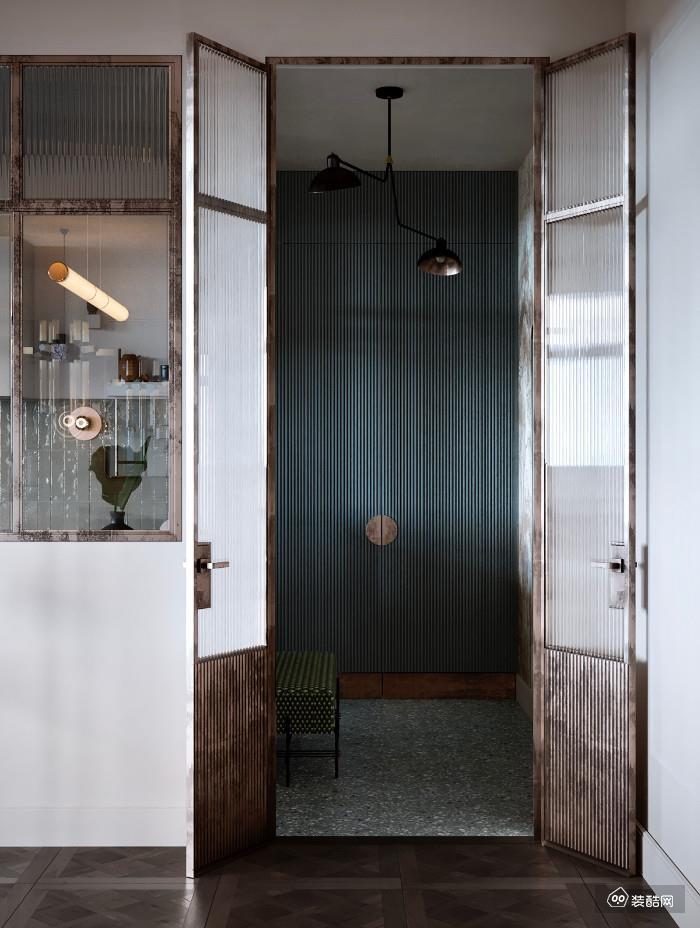 复古轻奢风,一个卫生间,美了整个家!