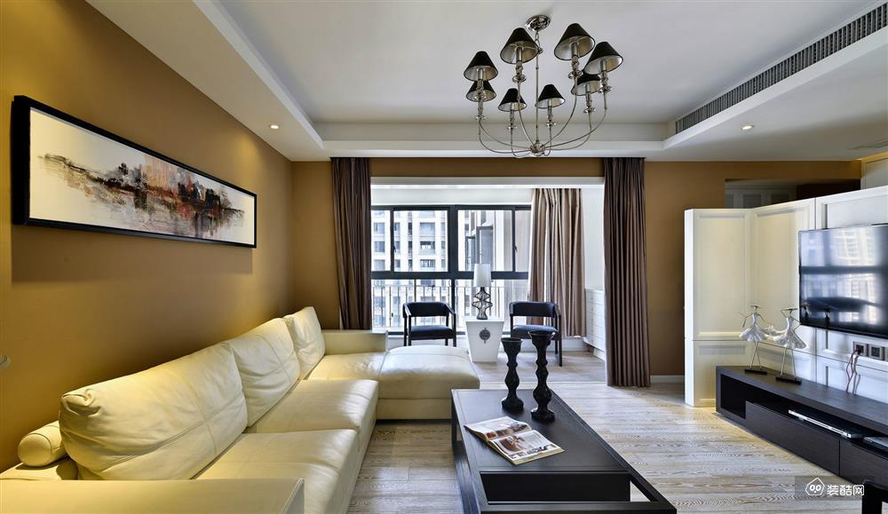 现代简约风格3室2厅,万人迷的绅士家居空间!不同的人对住宅空