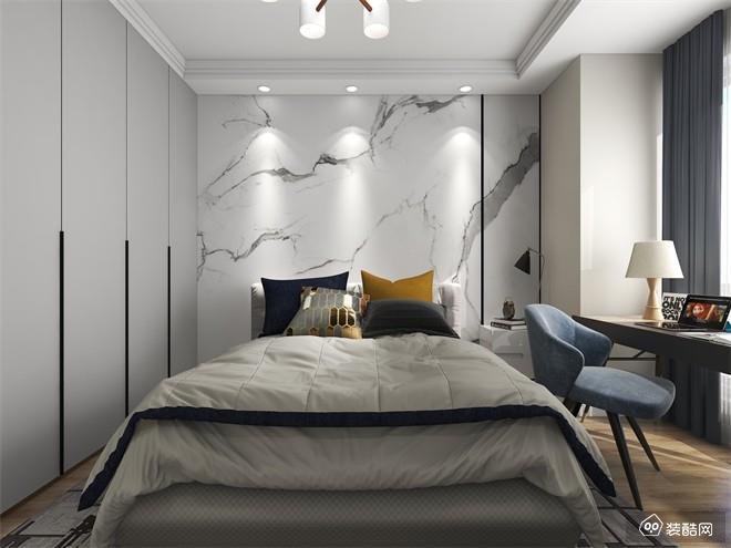 重庆120平米北欧风格三室装修效果图