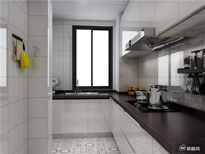 重庆125平米现代简约三室装修效果图