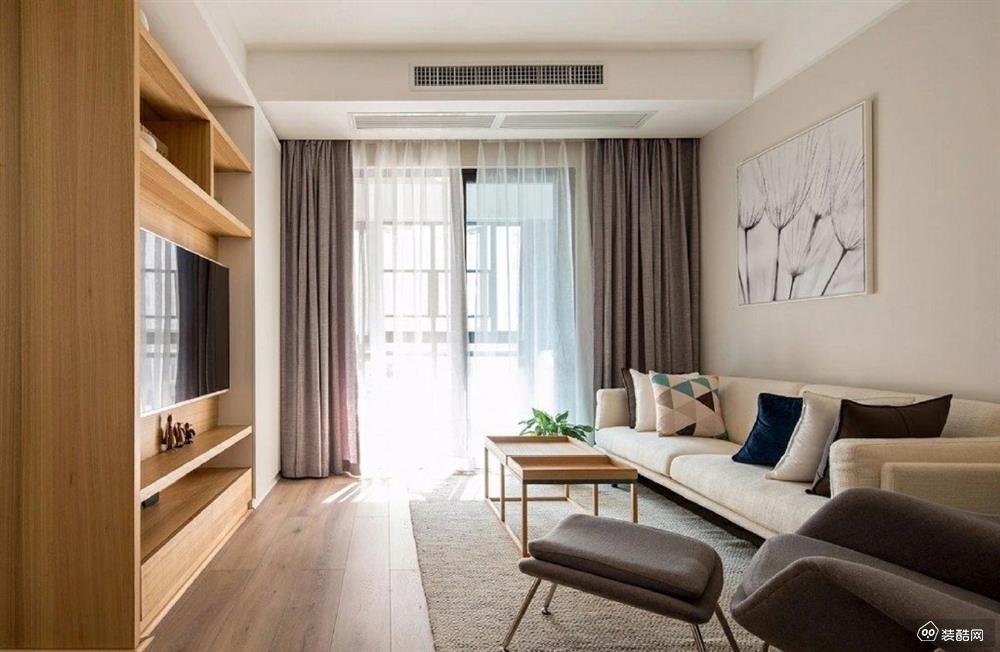 遵义100平三室一厅现代风格装修风格