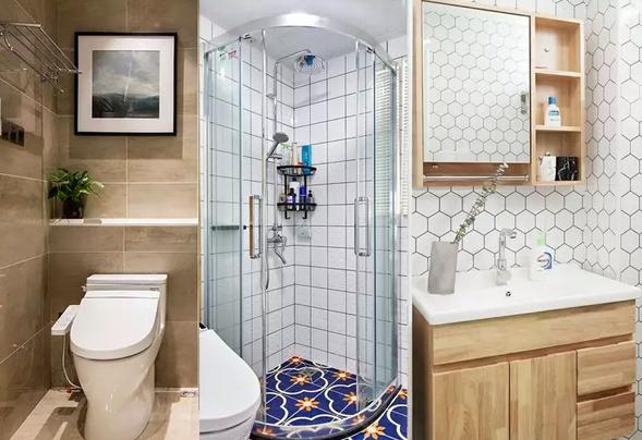 小面积卫生间怎么装修更合理?卫生间太小怎么办?