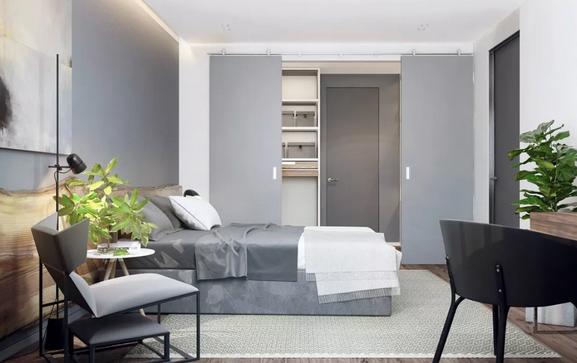 小卧室衣柜到底选哪种好?衣柜开门方式哪种更好?