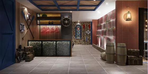 海盗餐厅功能区设计