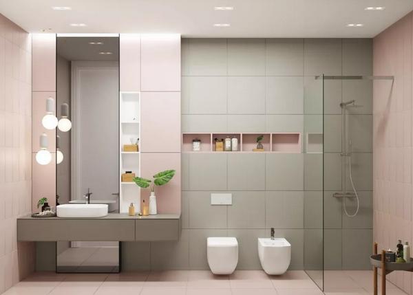 封闭式淋浴房好不好?试试这2种好看又高级的方法