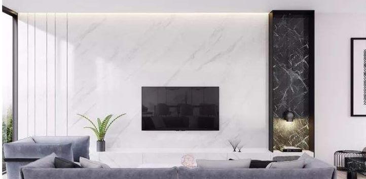 电视墙现代简约风格