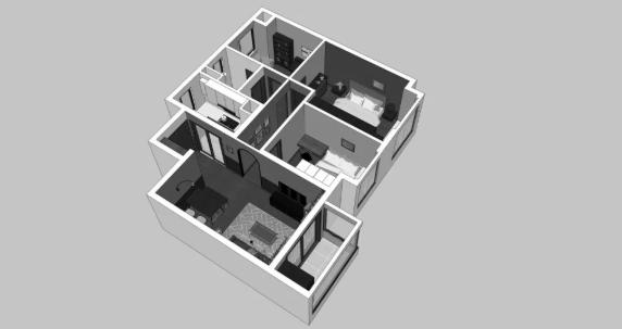 <b>90平</b>精裝房改造要多少錢?13萬對比改造精裝房軟裝