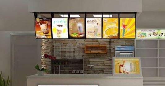 10平米奶茶店装修风格