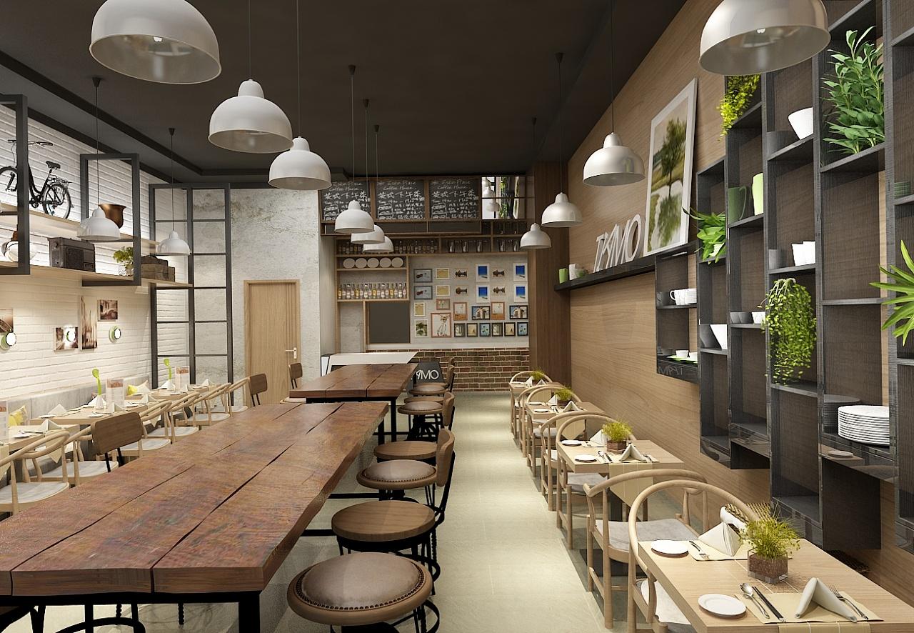 郑州餐饮业店面设计与装修的特点