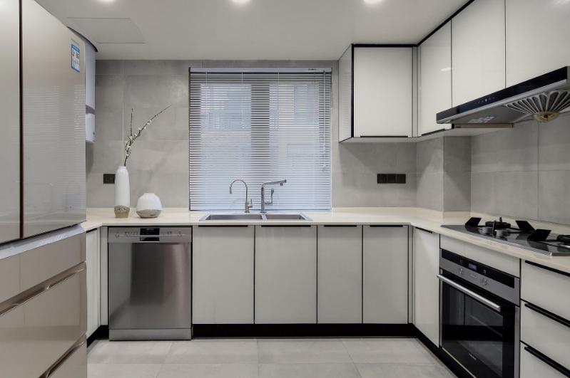 厨房装修常见布局结构 武汉一家一装饰厨房装修效果图