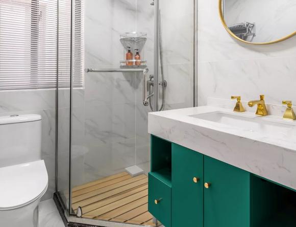 淋浴房排水别选防腐木