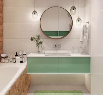 卫生间怎样设计整洁易打扫?省掉家务活就得这么装