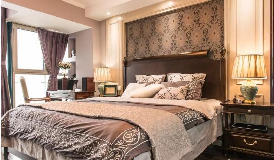 30万整装110平休闲美式婚房装修,典雅大气收纳超强